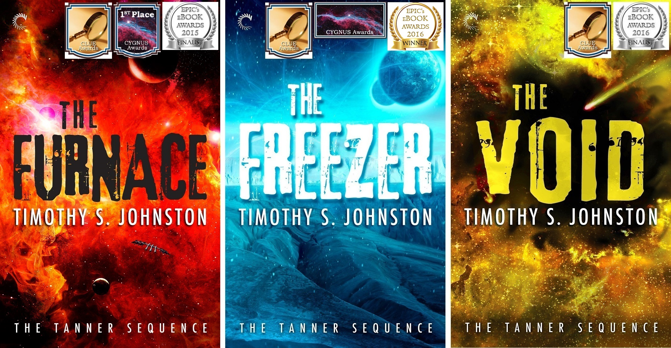 The Tanner Sequence Covers With All Award Logos