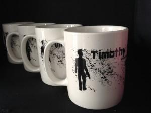 TSJ Mugs Four White